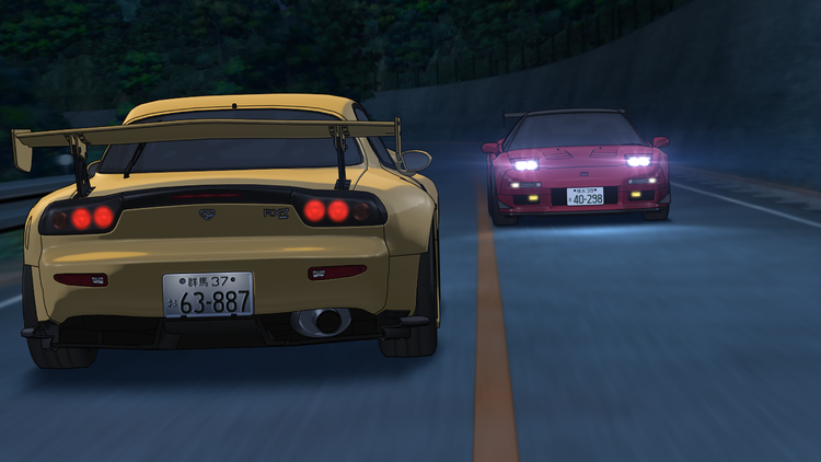 Stage 5th イニシャル d