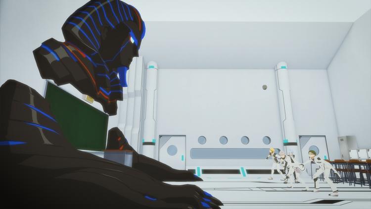 超次元革命アニメ『Dimensionハイスクール』 第08話