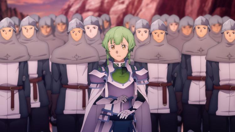 ソードアート・オンライン アリシゼーション War of Underworld 第06話