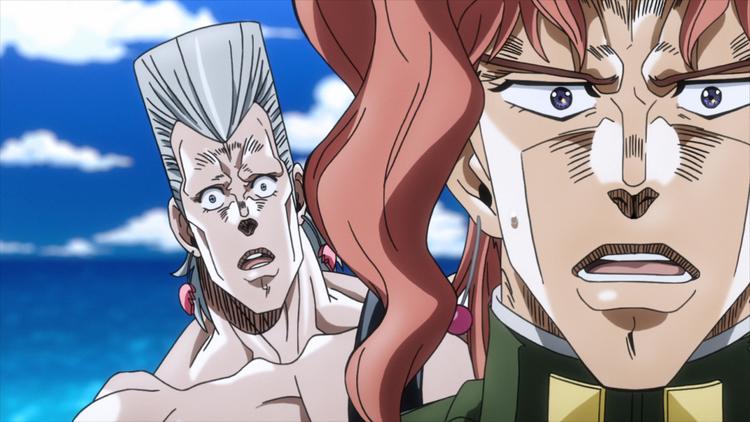 ジョジョの奇妙な冒険 スターダストクルセイダース 第21話