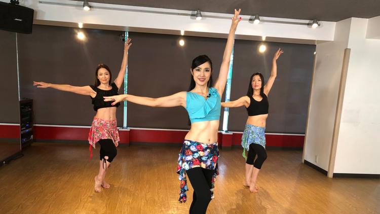 杉谷知香のベリーダンス基礎講座