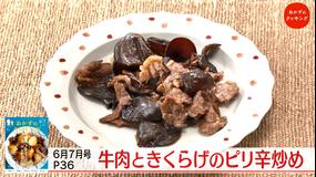 おかずのクッキング 土井善晴の「素材のレシピ・きくらげ」/陳建太郎の「回鍋肉チャーハン」(2021/07/24放送分)