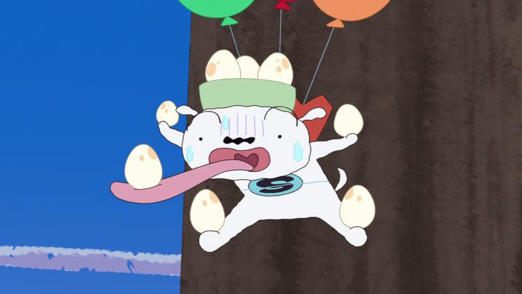 SUPER SHIRO #4 たまごを奪え!