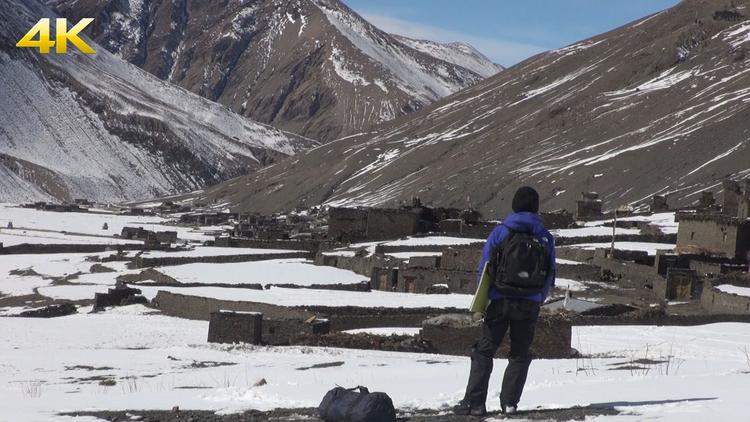 <4K>氷と雪に閉ざされた秘境の地 天空のヒマラヤ部族 決死の密着取材150日間 2020年3月8日放送