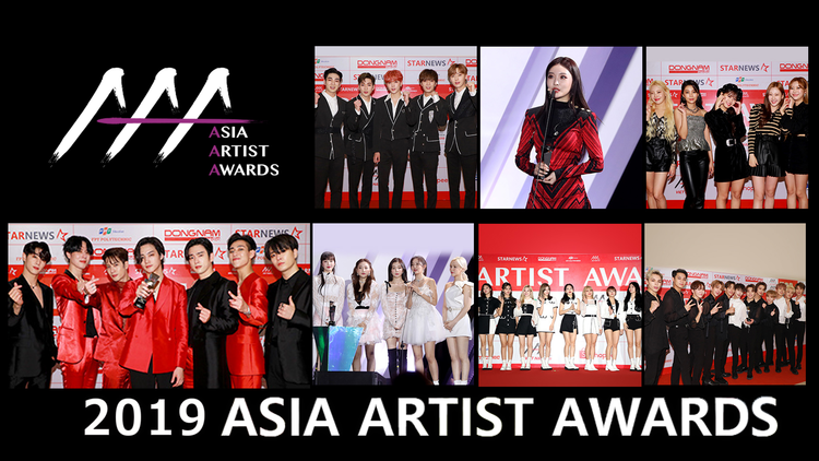 2019 ASIA ARTIST AWARDS/字幕
